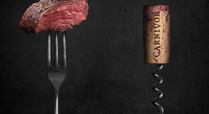 Banner carne y corcho