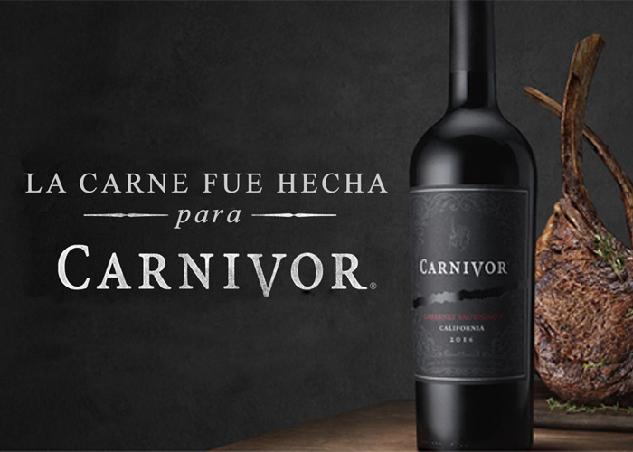 banner carne hecha para carnivor